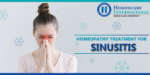 How Homeopathy effective in treating Sinus?